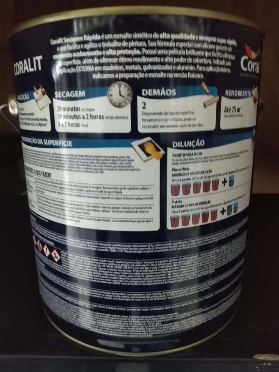 Esmalte sintético acetinado