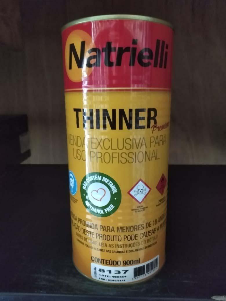 Thinner para diluição