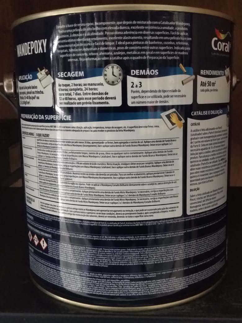 Tinta epóxi à base de solvente
