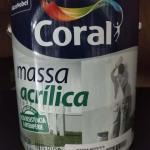 Massa acrílica coral