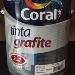 Tinta grafite dupla ação